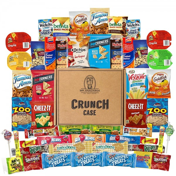 Mega Snacks Box (50 Count) - 8 Pack ($22.70 per box)